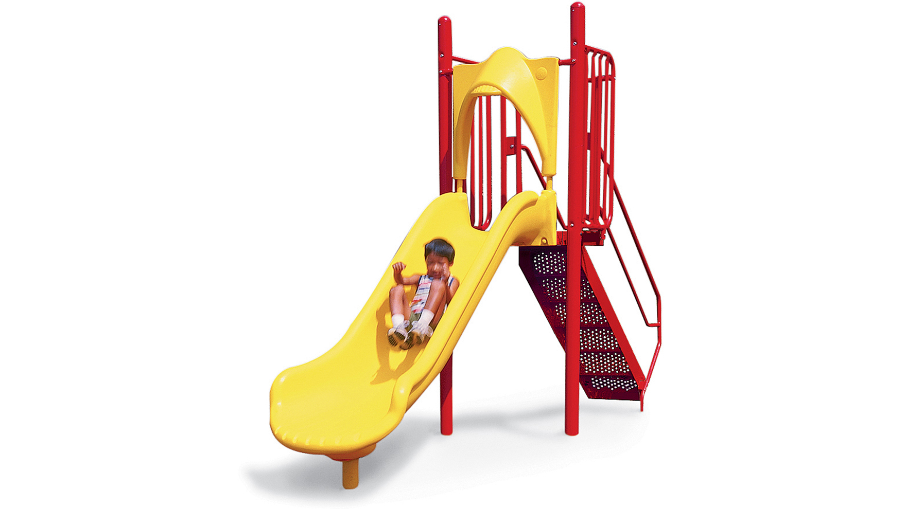 Free Standing Glide Slide 48in Deck Playworld 174